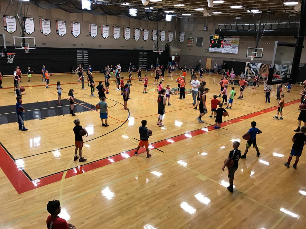 Youth Basketball Camp Reminder