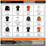 Last day to get Erie Tiger Football apperal!!