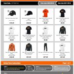 Final Day of Erie Football Apparel Store