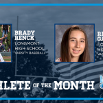 And the April Athlete of the Month Winners are…