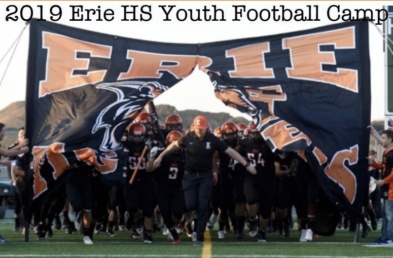 2019 Youth Football Camp Information