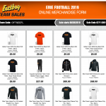 Erie High School Football Apparel Store