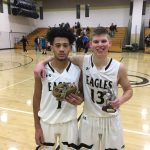 Josh Snell and Vonte Mitchell Basketball honors