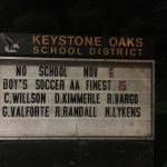 Boys Soccer Fall 2018