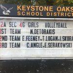 Girls Volleyball Fall 2018