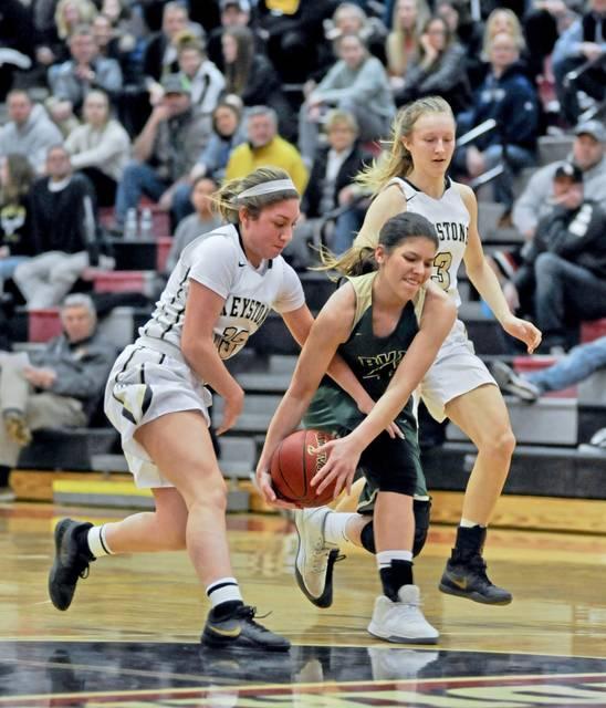 Trib HSSN- Girls basketball defeats Belle Vernon in Round one of playoffs!!!