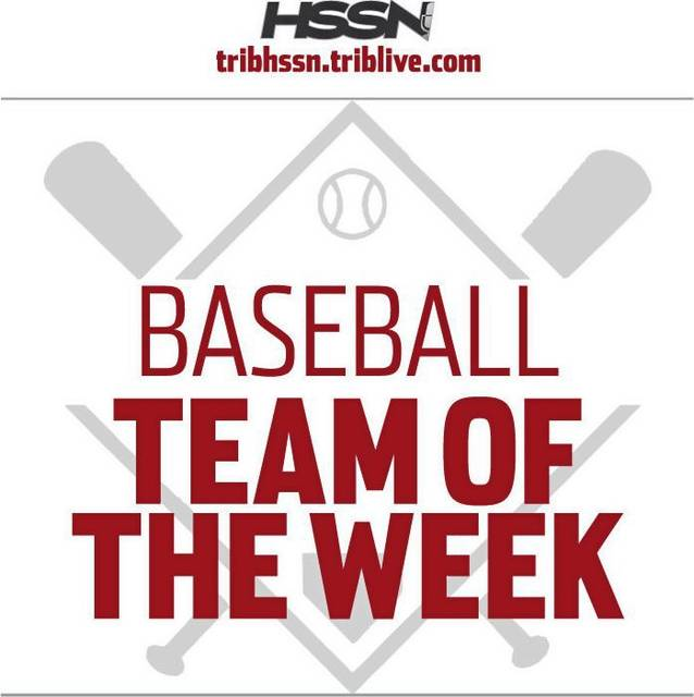 Boys Baseball named Trib HSSN Team of the week!!!