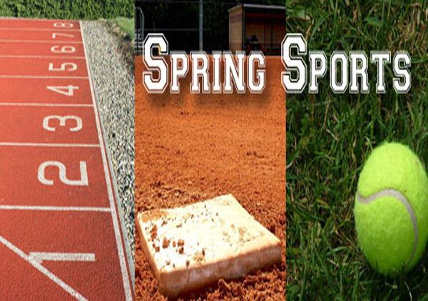 Spring Sports Schedules 5/12