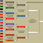 Updated MHSAA 8-Man Division 1 Football Bracket with Times and Locations