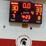 Girls Varsity Basketball beats Waldron 33 – 30