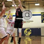 Girls Varsity Basketball falls to Climax-Scotts 44 – 33