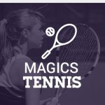 Magics and Blue Devils Play Suburban League Tennis