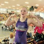 Autumn Whitlach takes Second in Wrestling