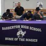 BHS Football Players to Continue Academic and Athletic Careers