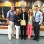 RECTOR FAMILY HONORED AT SPRING SPORTS BANQUET