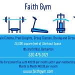 Thank You to Faith Gym and Al Horvath