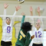 Magics Volleyball Set to Face Walsh in Second Round