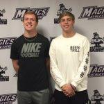 Garrett Turnbaugh and Zane Ries Student-Athletes of the Week