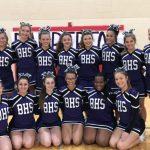 BHS Cheerleaders Shine at Brecksville Competition