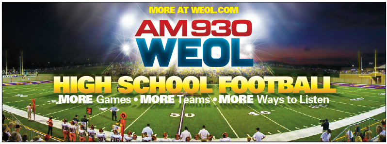 Tune in to 930 WEOL Radio Stream of the Magics vs. Hornets Football Game