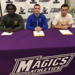 Gavin Krska, Spencer Hutchison and Kionnie Dukes Celebrate Signing Day