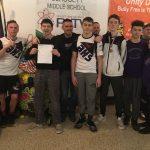 BHS JV Wrestlers Compete at Medina Invitational