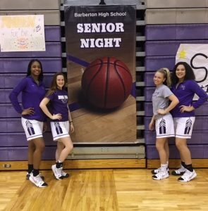 2019 Girls' Basketball Senior Night