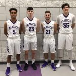 BHS Boys' Basketball Team Wins on Senior Night