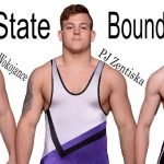 Gary Wokojance and PJ Zentiska Place at State Wrestling Tournament