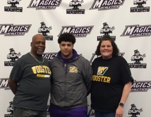 Demetrius Barnett Selects College of Wooster