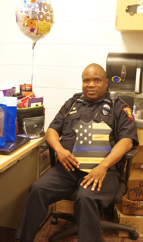 BCSD Ken Cheatham Retires after 20 Years as School Resource Officer
