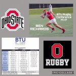 Ben Richards Co-MVP for Ohio State Rugby Team