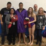 2020 Barberton HS Swim Team Senior Day