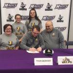 Tyler Eberhart College Signing