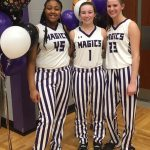 Lady Magics Basketball 2020 Senior Night