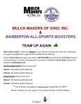 BASB and Mulch Makers Team Up Again