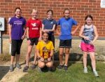 BMS Girls' Cross Country Team Takes First Place