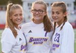 BHS Girls' Soccer Team and the Cunningham Sisters