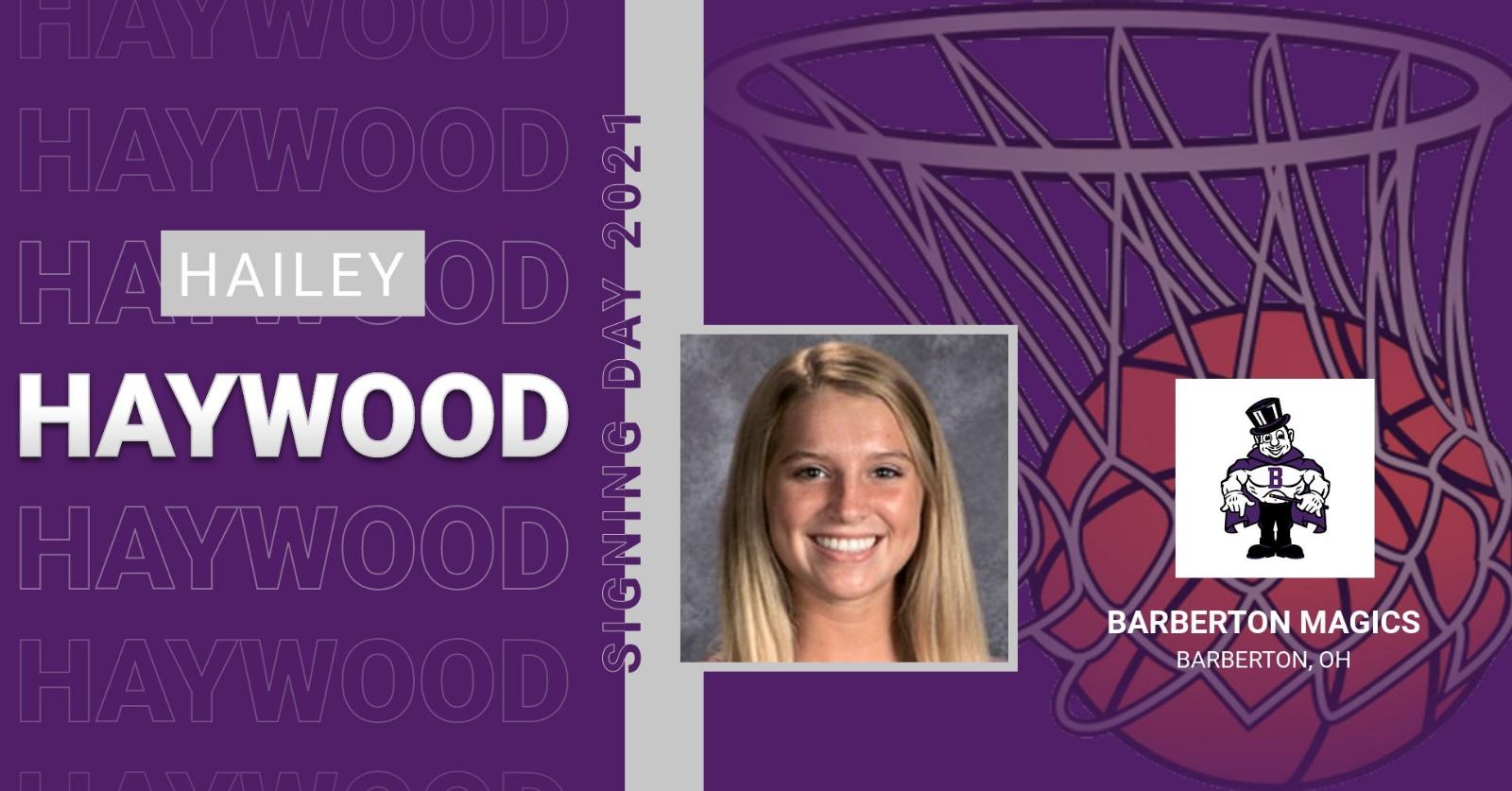 Hailey Haywood Signing