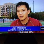 MJJ Varsity Football KIcker Jack Breedlove – Feature Story on Fox 5 News