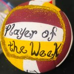 Varsity Volleyball Player of the week September 9-13