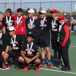 Braves Reach Final Four in Tennis