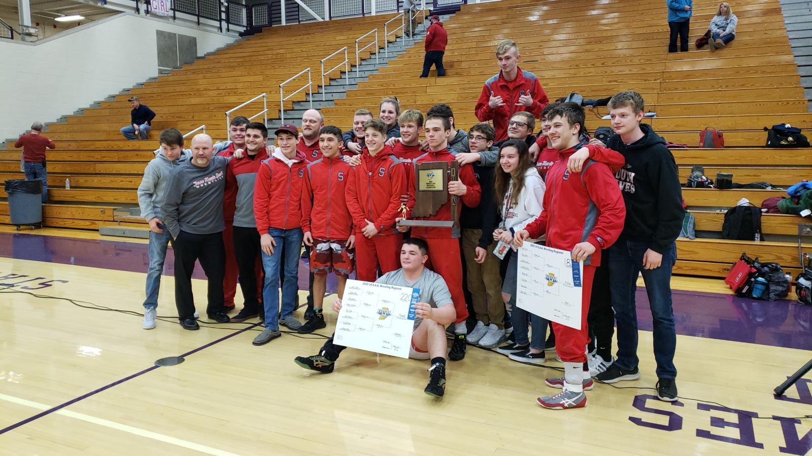 Wrestling Win Terre Haute's First Regional Championship