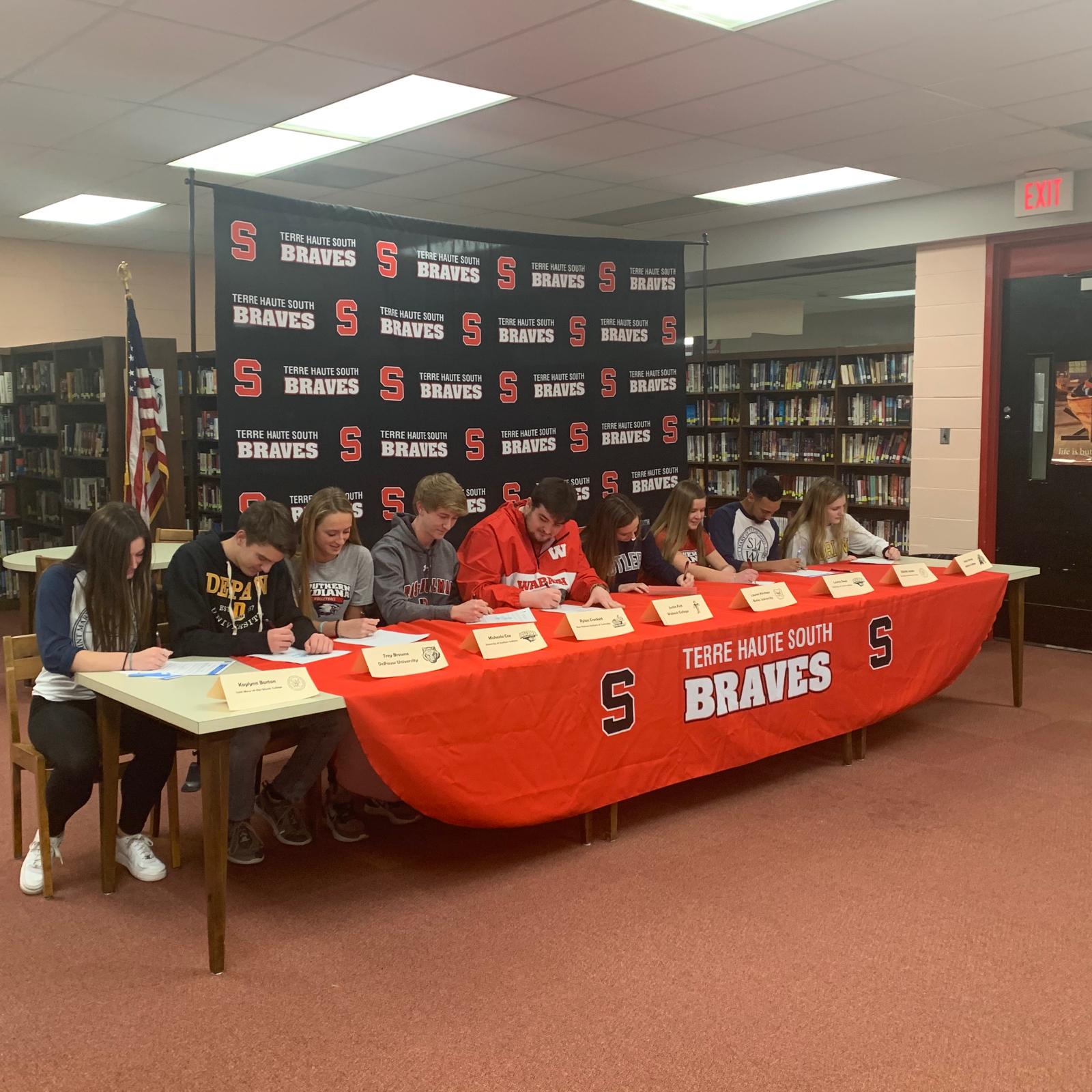Nine Athletes Declare Their College Intentions