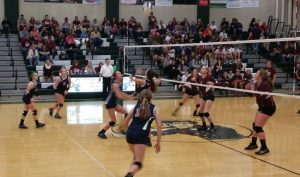 Volleyball Sectional vs Tri
