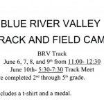 BRV TRACK & FIELD CAMP