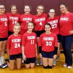 8th Grade BRV Volleyball vs Wes-Del