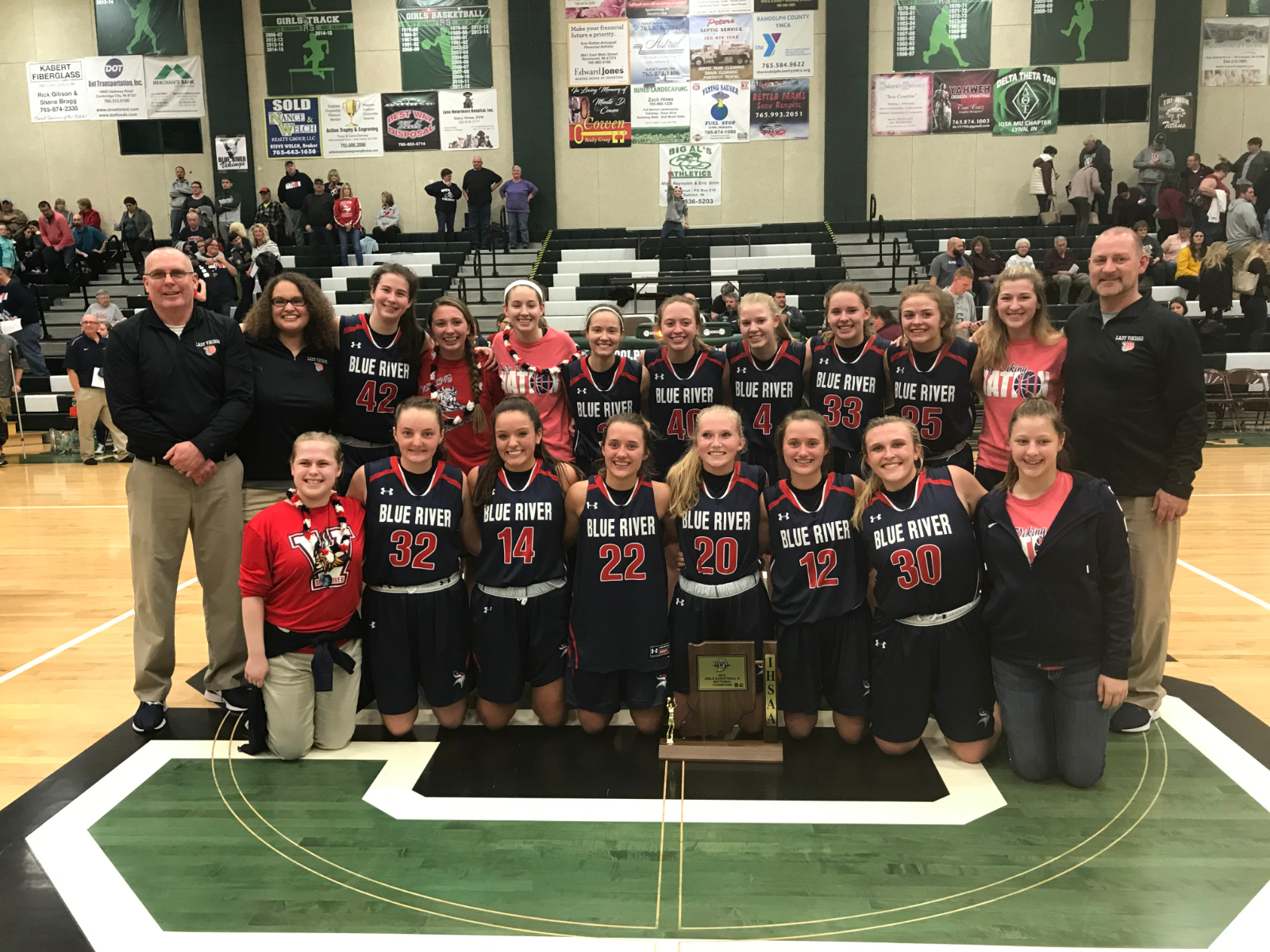 LADY VIKINGS – SECTIONAL CHAMPIONS!