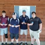 Boys Varsity Golf finishes 3rd place at Tri Invite, Two Vikings Medal