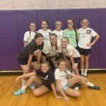 BRV Girls 8th Grade Volleyball beats Hagerstown 2-0